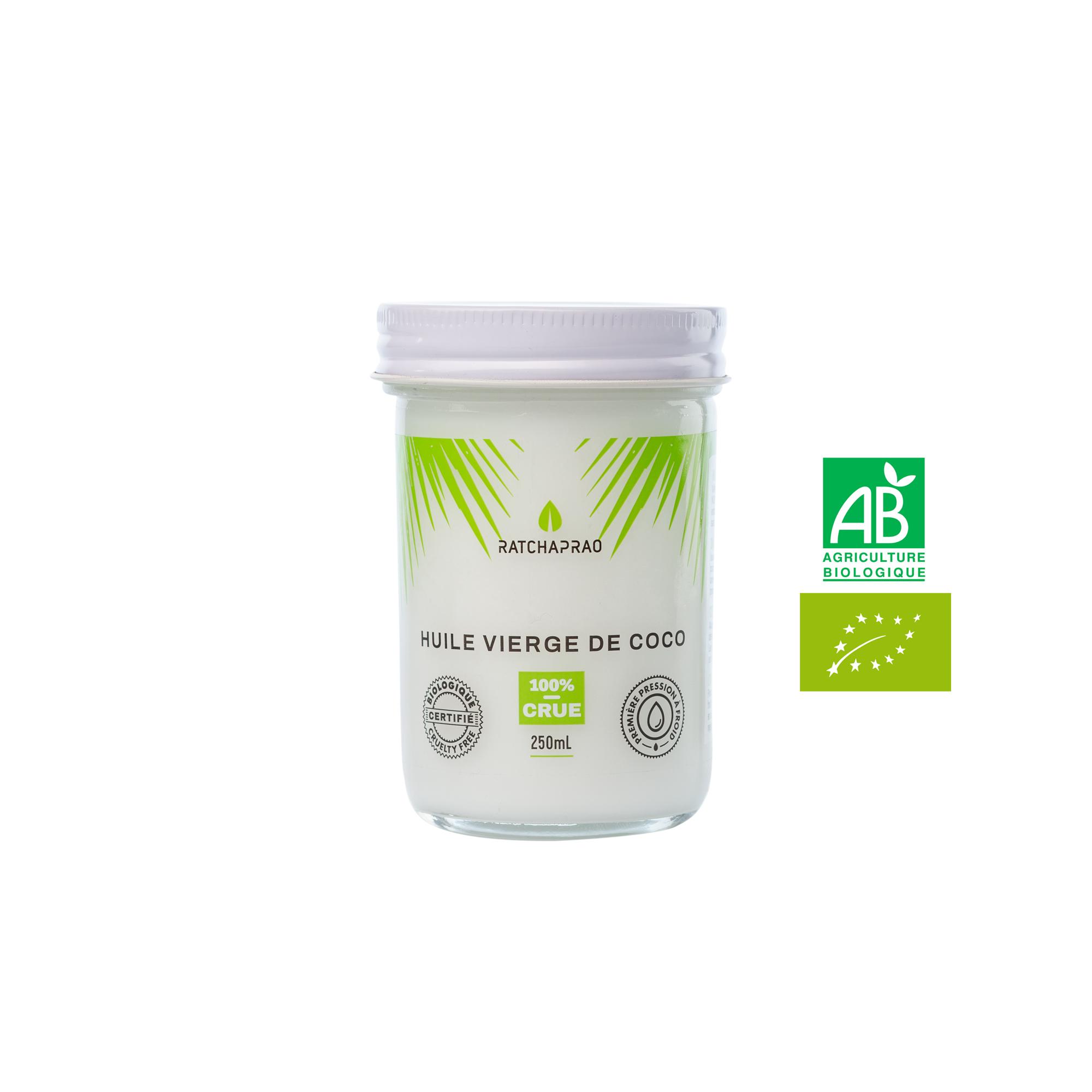 Pot huile vierge de coco RATCHAPRAO 250ml