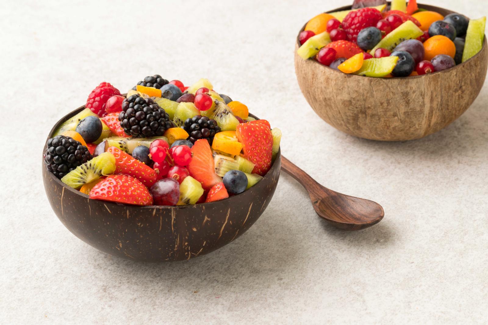 coconut bowl salade de fruit