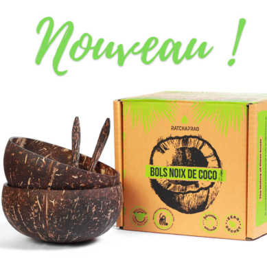Nouveau produit bols en noix de coco